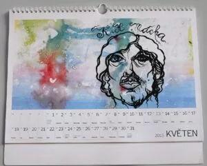 Kalendář je možné objednat jako firemní dárek i jako formu náhradního plnění