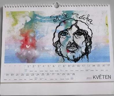 náhled kalendáře